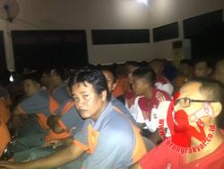 Suasana saat acara Wisata Nurani di Aula Mapolres Lombok Timur