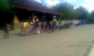 Salah satu budaya di LOmbok Tengah, nyongkolan