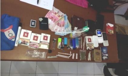 Lagi Asik Pesta Narkoba, Tiga Warga Masbagik Diciduk Polisi