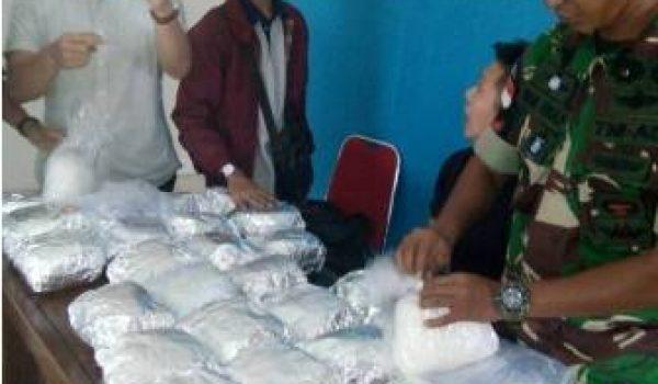 Warga Malaysia Ditangkap Bawa Narkoba