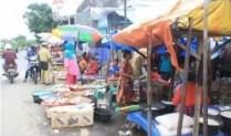 Pedagang Pasar Amba Wodi Resah Berdagang Didepan Masjid